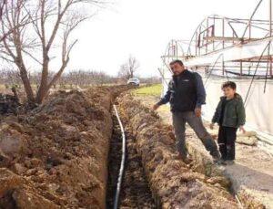 9 yıldır temiz suya hasret Kılıcan Ailesi'nin su sevinci