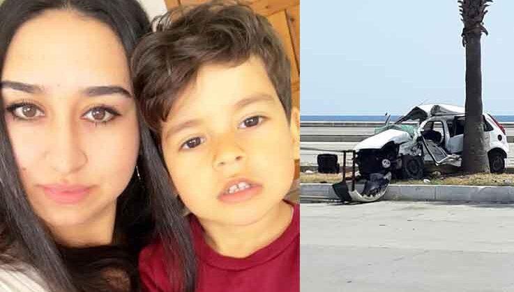 Antalya'da doğum günü alışverişine giden anne kazada öldü oğlu ve 4 yakını yaralandı