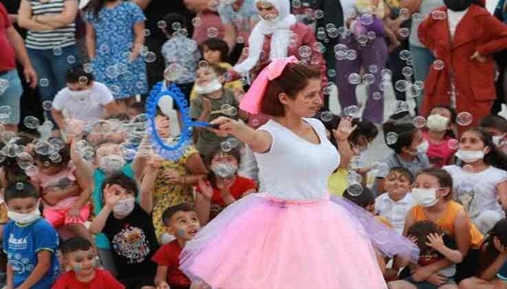 Büyükşehir'in Çocuk Şenliği başladı