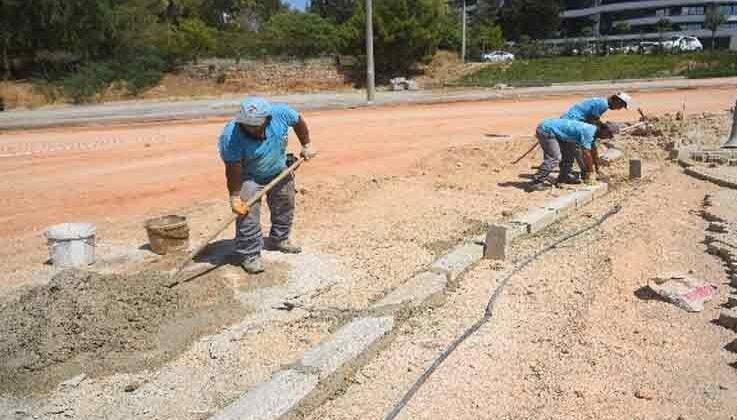 70 kilometrelik asfalta Okurcular'dan başlandı
