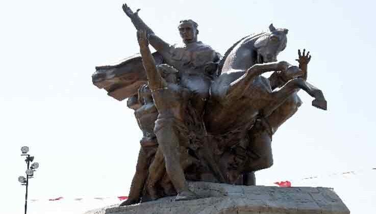 Ulusal Yükseliş Anıtı'nın bakımı yapıldı