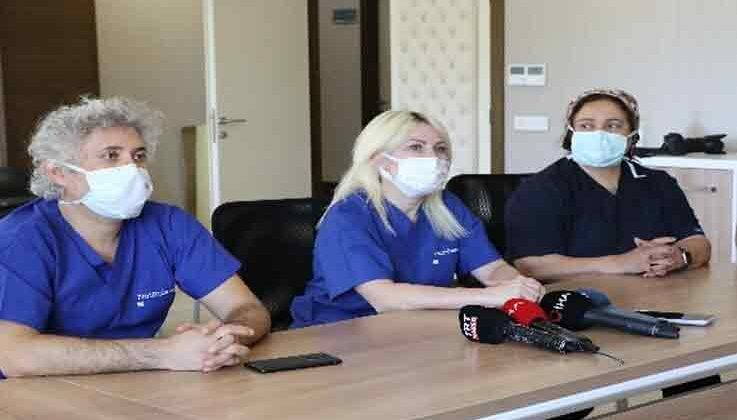 Türkiye'nin 10 yıl sonra yapılan kadavradan ikinci rahim nakli 8 saat süren operasyonla tamamlandı