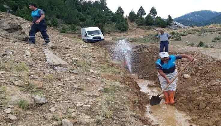İbradı'da içme suyunda yaşanan basınç düşüklüğü sorunu çözüldü