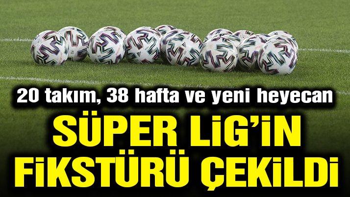 Süper Lig'de 2021-2022 sezonu fikstürü çekildi