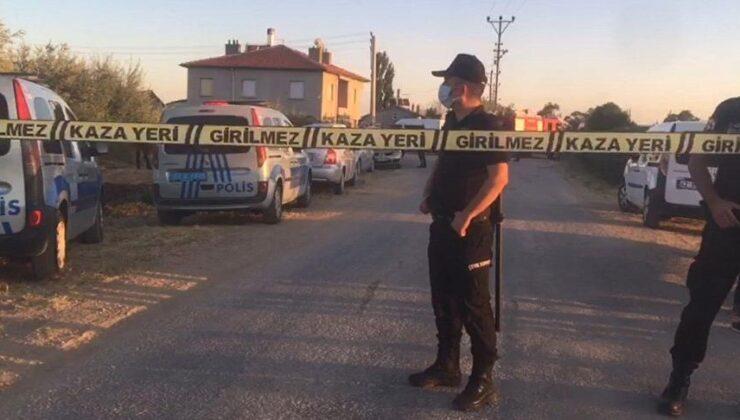 Konya'da eve silahlı baskın: Saldırganlar aynı aileden 7 kişiyi öldürüp evi ateşe verdi