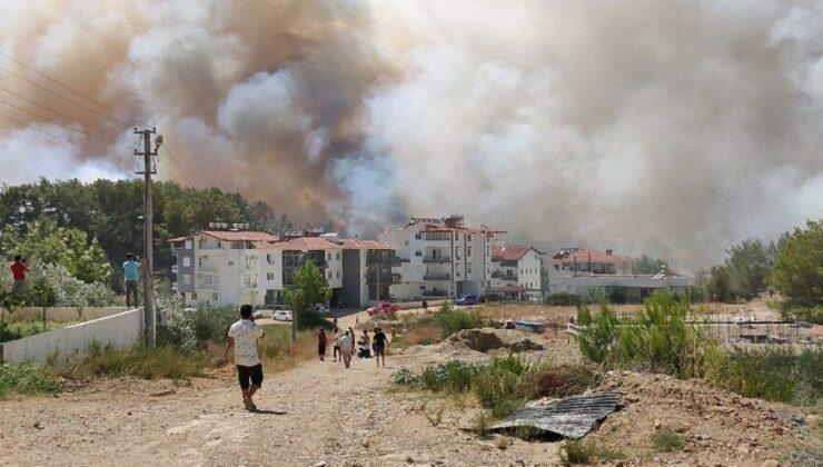 Manavgat'ta orman yangını yeniden başladı