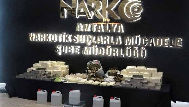 Antalya'da milyonlarca kağıda emdirilmiş bonzai yapımının önüne geçildi