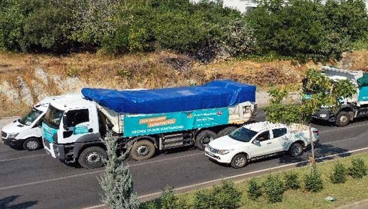 Başkan Yücel'den, Kastamonu'ya yardım desteği