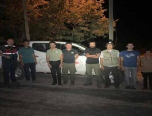 Kaçak yaban keçisi avlamaya çalışan avcılara 10 bin lira ceza
