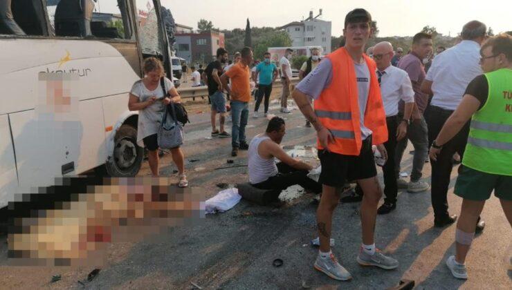 Havaalanına giden otobüs takla attı: 3 ölü, 5 yaralı