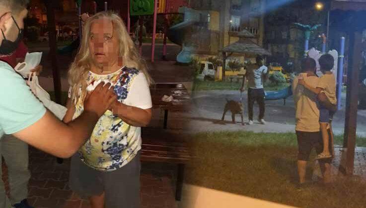 Antalya'da çocuk parkında pitbull dehşeti