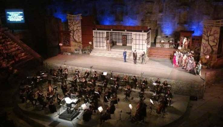 Aspendos 28. kez opera severlere kapılarını açtı