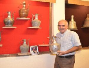 """Antalya'da """"Kullanılmış Bakır Kap Müzesi"""" açıldı"""