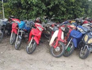 Finike'de motosiklet denetimi