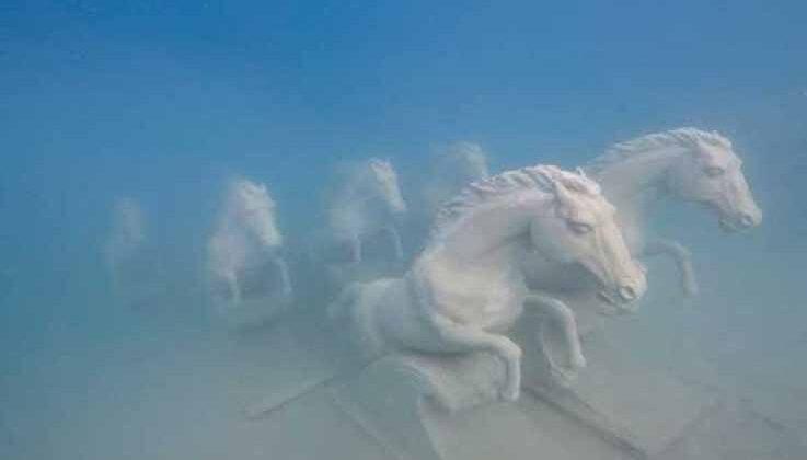 Likya uygarlığının kaçırılan eserleri Kaş'ta su altında sergilenecek