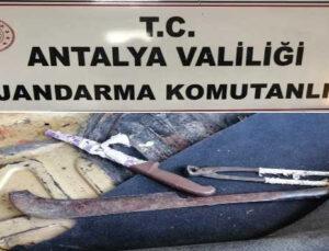 3 farklı yerde toplam 42 bin TL'lik kablo hırsızlığında 2 şüpheli gözaltına alındı