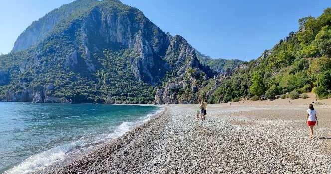Çıralı sahilleri, Rus turistlere kaldı