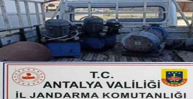 15 bin TL değerinde 3 dinamo çalan şüpheliler yakalandı