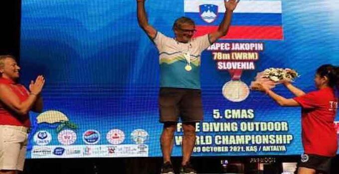 CMAS 5. Serbest Dalış Outdoor Dünya Şampiyonası fım disiplini dünya şampiyonları belli oldu
