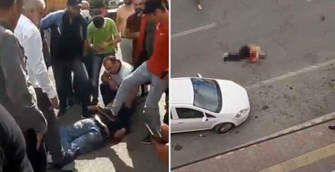 Kayınbiraderini bıçakladı, linçten polis kurtardı